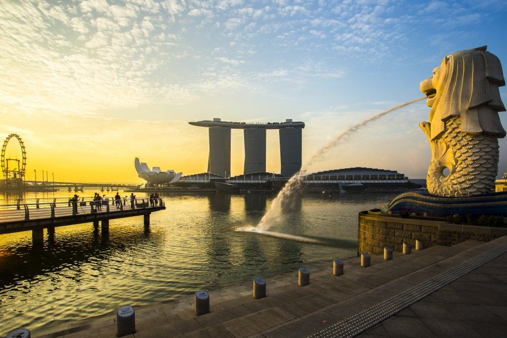 Merlion at Singapore